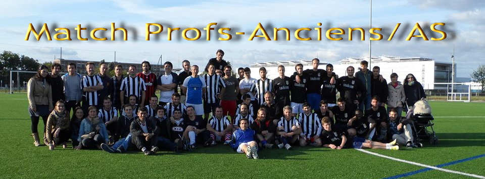 Match profs anciens / AS